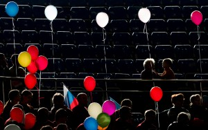 The balloons. 2013 (c) Maxim Korotchenko